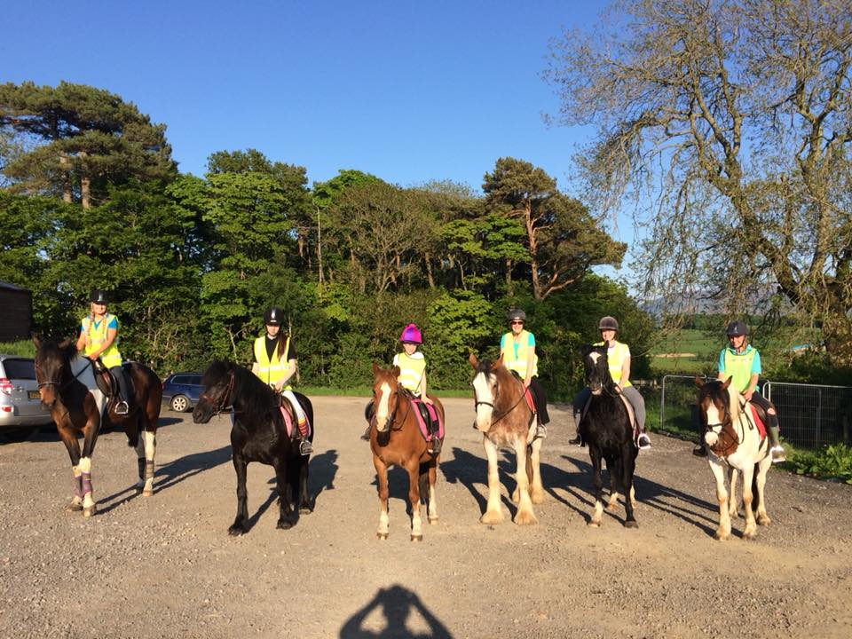 Hacking Parkers Equestrian Cumbria Horse Riding
